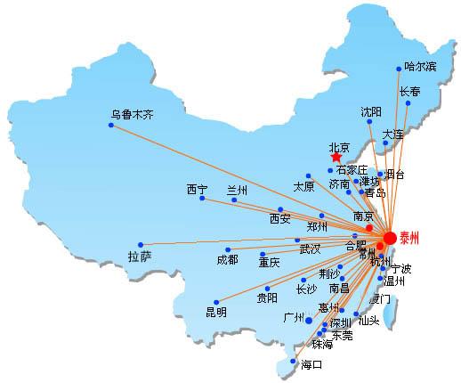 姜堰地图全图高清版
